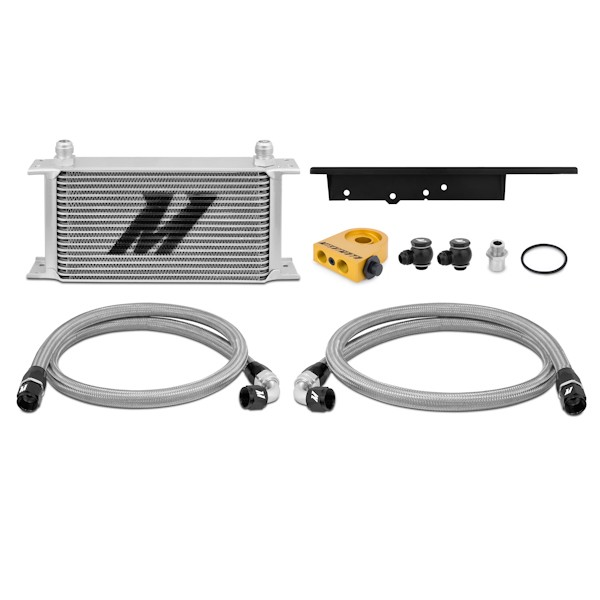 03-09 Nissan 350Z / 03-07 Infiniti G35 (Coupe only) Oil Cooler Kit, Thermostatic