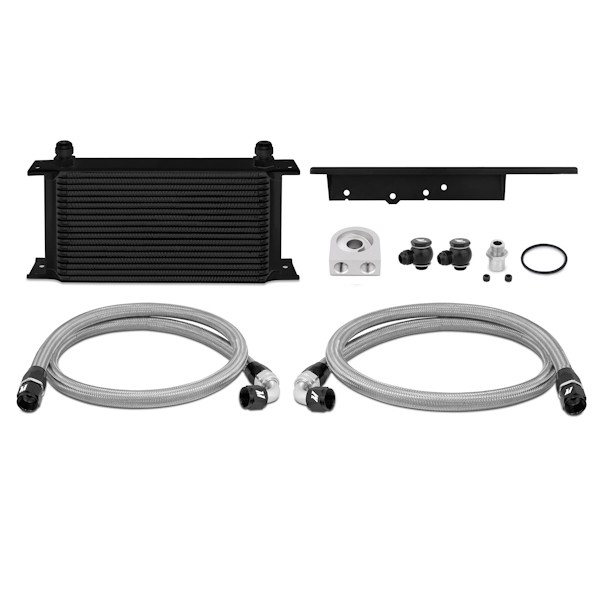 2003-2009 Nissan 350Z / 2003-2007 Infiniti G35 Coupe Oil Cooler Kit, Black