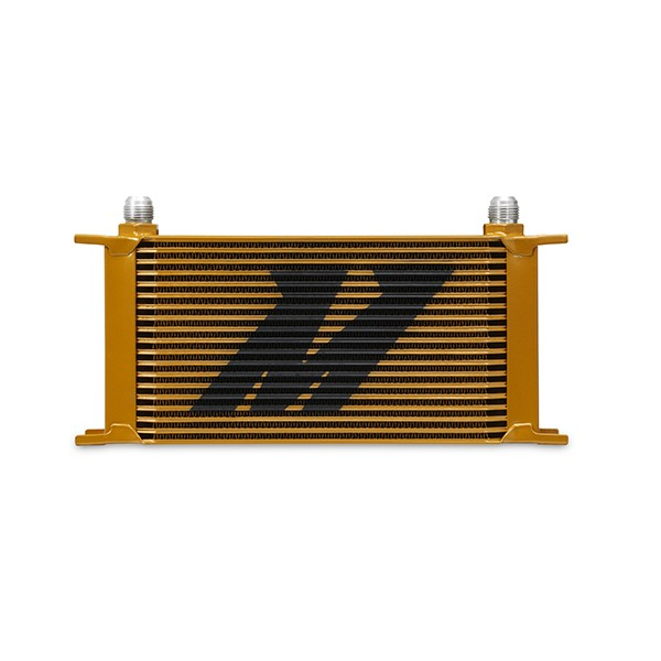 Universal 19 Row Oil Cooler, Gold