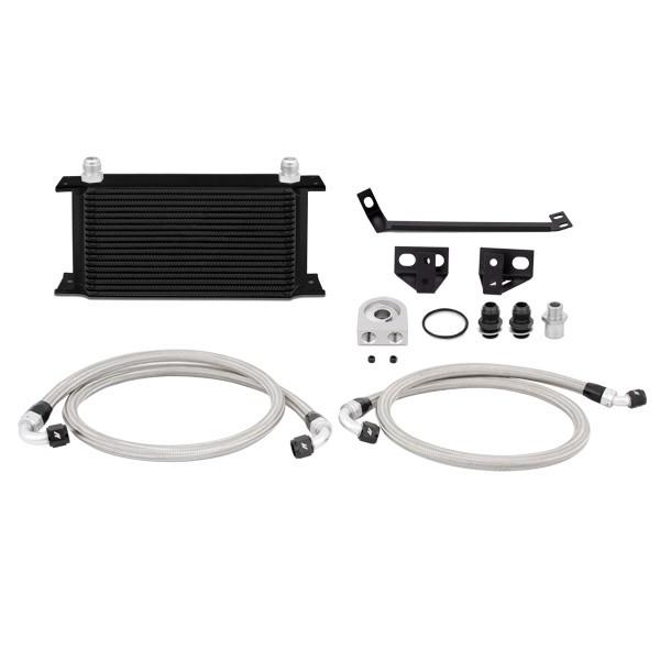 Mishimoto Ford Mustang EcoBoost Oil Cooler Kit, 2015+ Schwarz