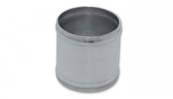 "Vibrant 2.5"" OD Aluminum Joiner Coupling (3"" Long)"