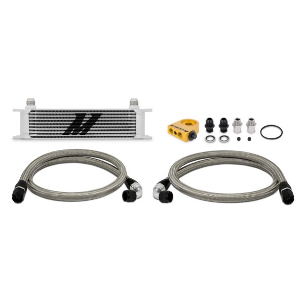 Universal Thermostatic 10 Row Oil Cooler Kit