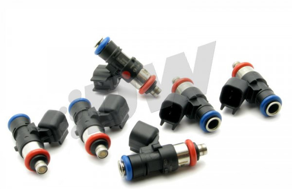 DeatschWerks Bosch EV14 Universal 40mm Compact 42lb/hr Injectors (Set of 6)