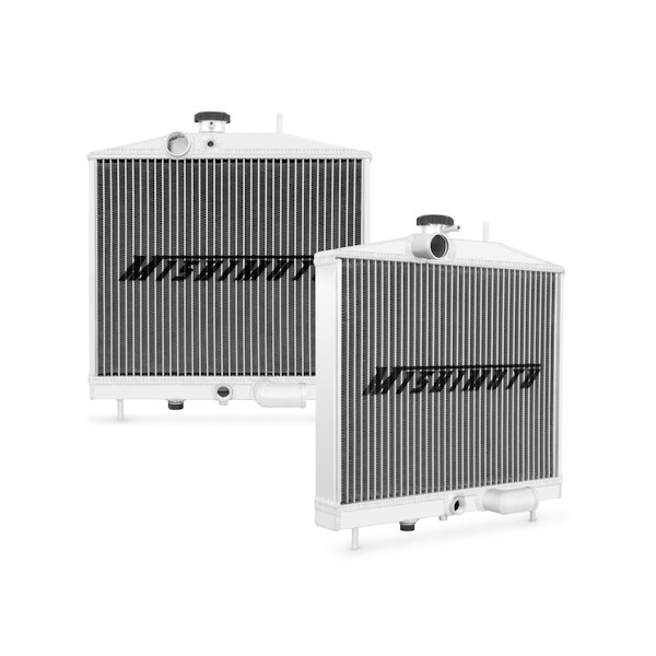 Honda Civic K-Series Swap Aluminum Radiator, 1992-1995
