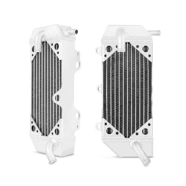 Yamaha YZ250F Braced Aluminum Dirt Bike Radiator, 2010-2013