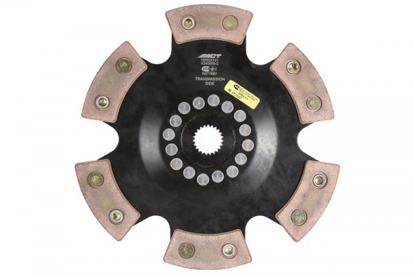 ACT 2015 Ford Focus 6 Pad Rigid Race Disc