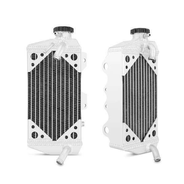 MISHIMOTO Aluminium Kühler für 08 Kawasaki KX450F
