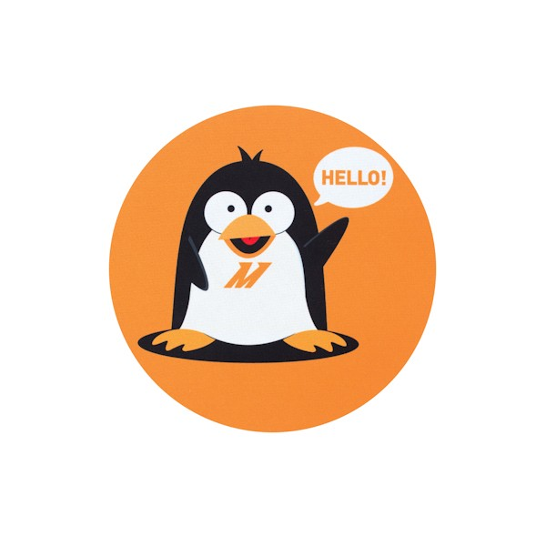 Chilly The Penguin Mouse Pad