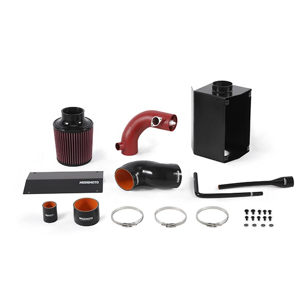 Mazda Miata Performance Air Intake, 2016+ Wrinkle Red