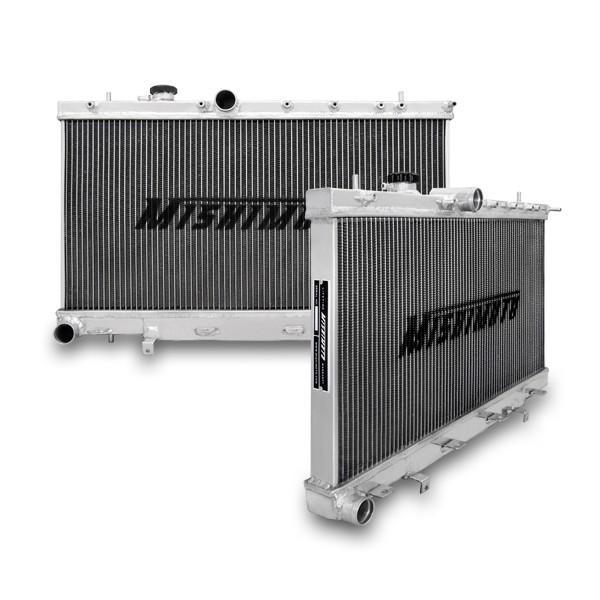 Mishimoto Aluminium Kühler für 01-07 Subaru GD GG WRX & STI X-Line 3-reihig