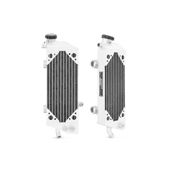 KTM 450 SXF/SMR/XCF/EXC, 505 SXF/XCF, 250 EXCF, Braced Aluminum Radiator