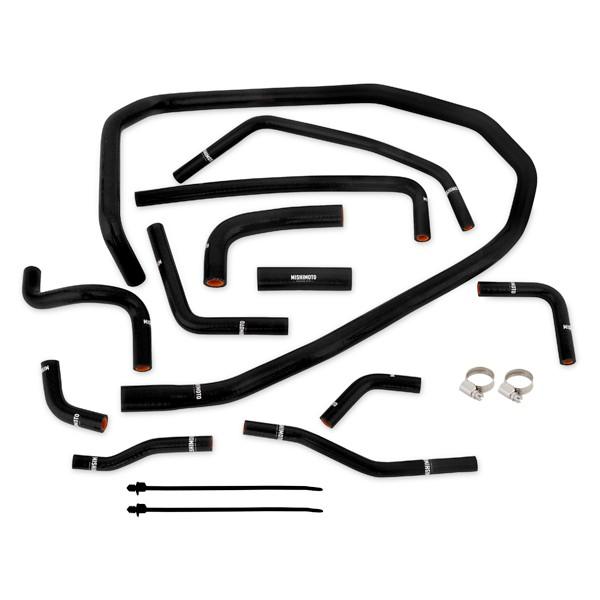 Subaru WRX Silicone Ancillary Hose Kit, Black, 2015+