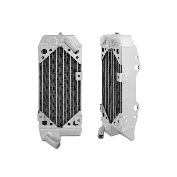 Suzuki DRZ400S, SM Braced Aluminum Dirt Bike Radiator, 2000-2013