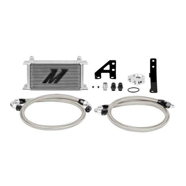 Mishimoto Ölkühler für 2015+ Subaru WRX STI Silber