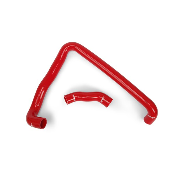 Nissan 300ZX Turbo Silicone Radiator Hose Kit, 1990-1996, Red