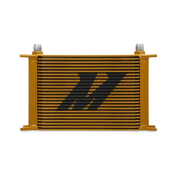 Universal 25-Row Oil Cooler, Gold