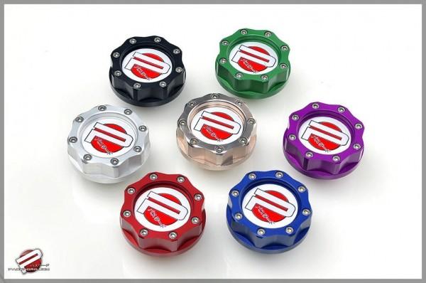 PWJDM Öldeckel für Honda & Nissan Silber
