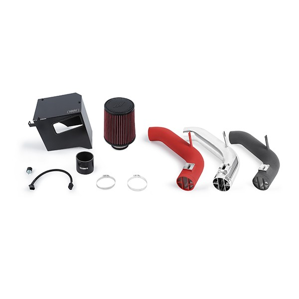 Subaru Forester XT Race Intake, 2014+ Wrinkle Red