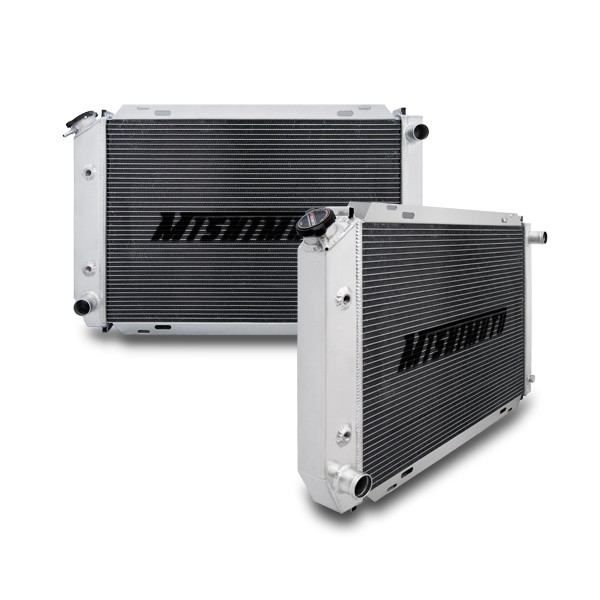 Ford Mustang Performance Aluminum Radiator, Automatic, 1979-1993