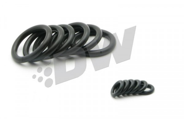 DeatschWerks Subaru Side Feed Injector O-Ring Kit (4 x Top Ring 4 x Bottom Ring)