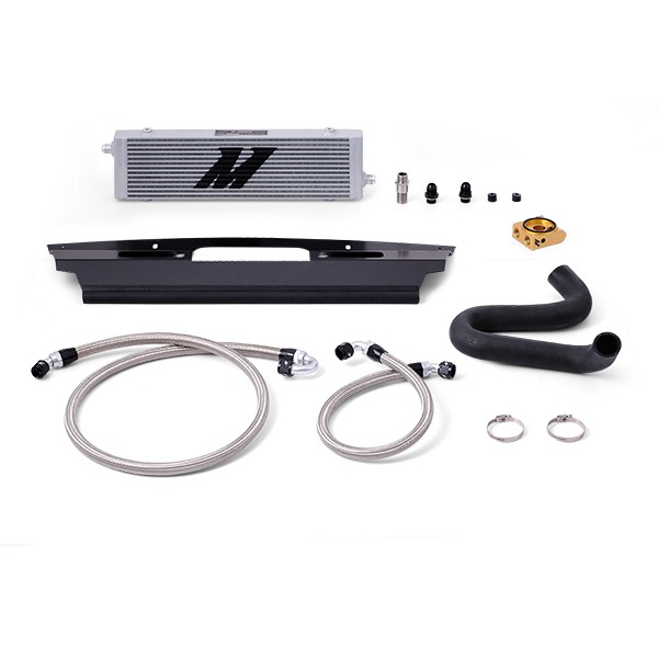 Ford Mustang GT Silver Oil Cooler Kit, 2015+