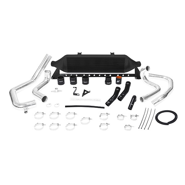 Subaru WRX STI front-mount intercooler kit, 2008-2014 Black