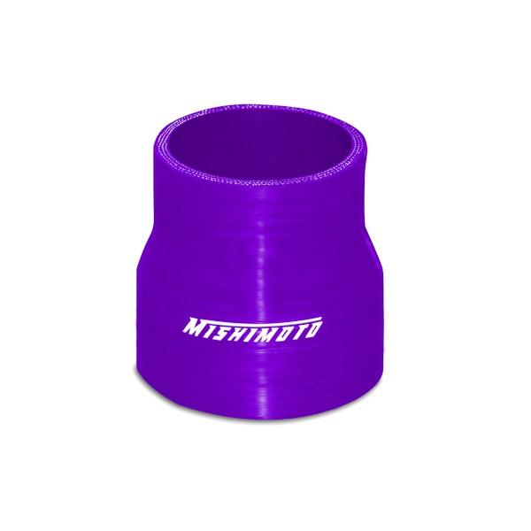 "Mishimoto 2.5"" to 2.75"" Silicone Transition Coupler, Purple"