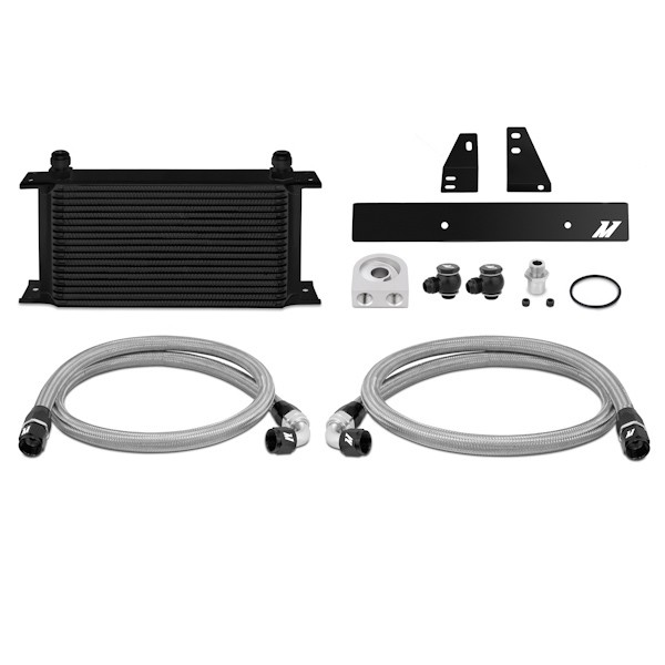 Nissan 370Z, 2009+ / Infiniti G37, 2008+ (Coupe only) Oil Cooler Kit, Black