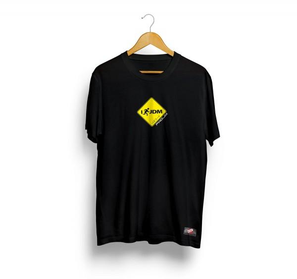 PWJDM T-Shirt I Run JDM Grösse: L in schwarz