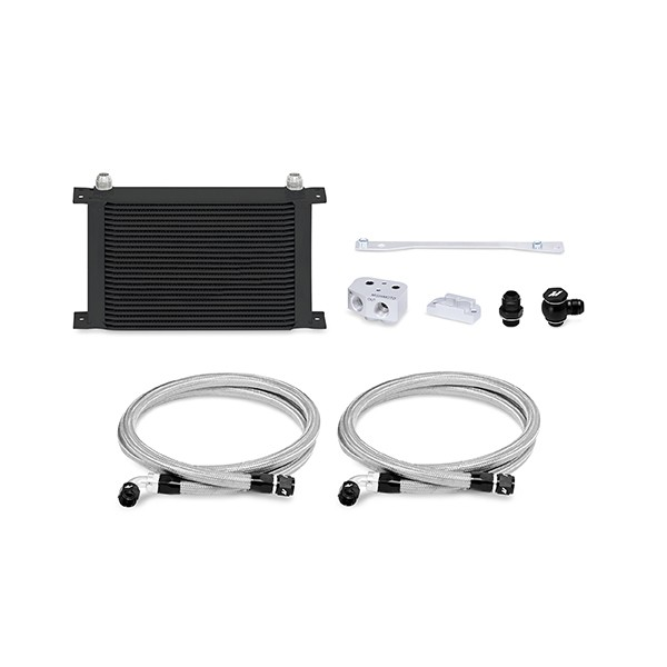 Mishimoto LS1/LS2 Front-Sump Race Oil Cooler Kit, Black