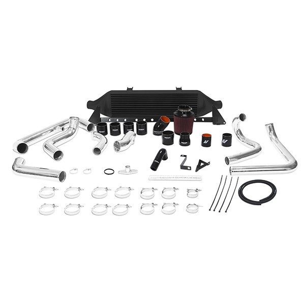 Subaru WRX Front-Mount Intercooler Kit, 2008-2014 Black