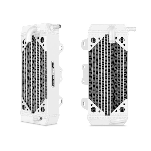 Yamaha YZ250F Braced Aluminum Dirt Bike Radiator, 2007-2009