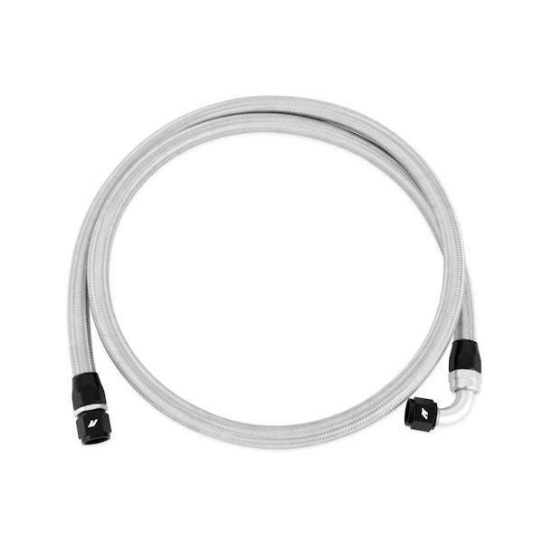 6ft Stainless Steel Braided Hose w/ -10AN Fittings
