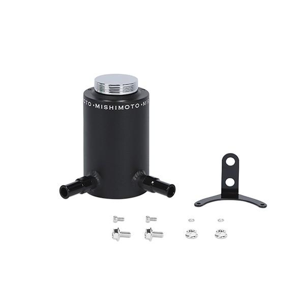 Aluminum Power Steering Reservoir Tank, Wrinkle Black
