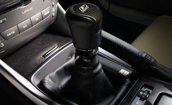 Lexus F Sport Schaltknauf IS 220d 250 XE2 Schaltgetriebe