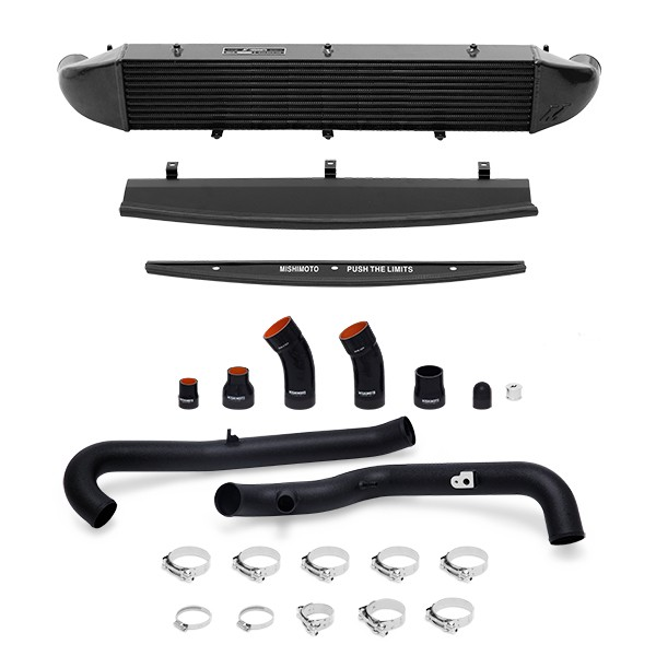 Ford Fiesta ST Performance Intercooler Kit, 2014+ Black Pipes, Black Cooler