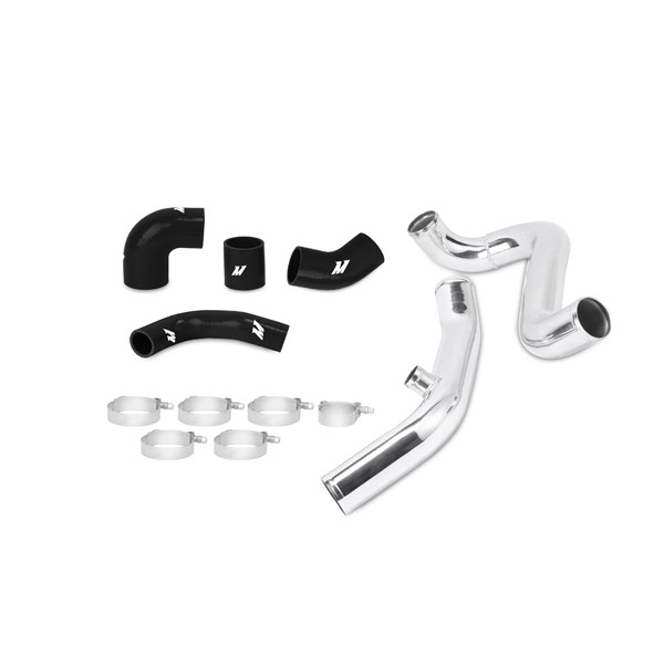 Mitsubishi Lancer Evolution 7/8/9 Upper Intercooler Pipe Kit, Black, 2001-2007