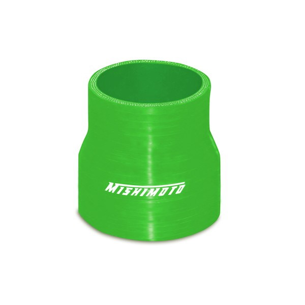 "Mishimoto 2.5"" to 2.75"" Silicone Transition Coupler, Green"
