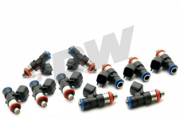 DeatschWerks 03-06 Dodge Viper (Drop In) / 92-02 Viper (Top Feed Only) 50lb Injectors - Set of 10