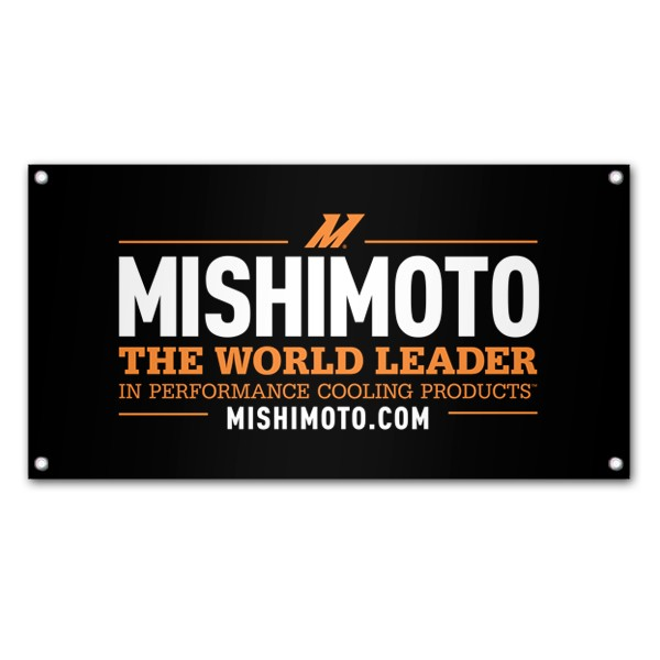 Mishimoto Promotional Banner, World Leader