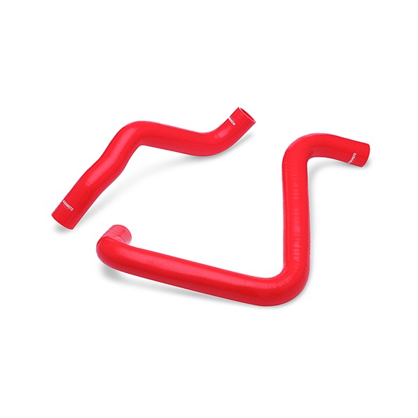 Toyota Corolla 1.6L Silicone Radiator Hose Kit, 1984-1988 Red